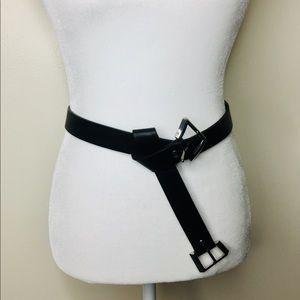 ASOS Black Buckle Belt